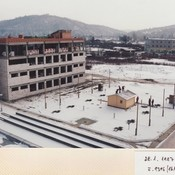 Stavba v zimě 2