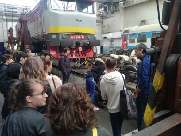 Exkurze DEPO ČD Maloměřice 2019