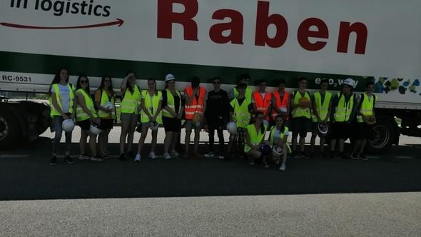 Návštěva firmy Raben Logistics Czech s.r.o. Brno