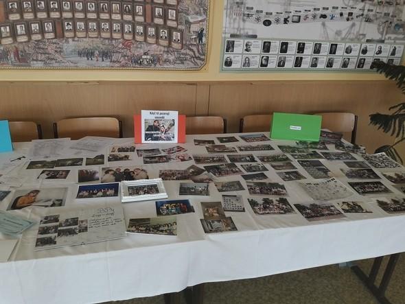 Výstava k 70. výročí školy